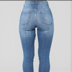 Fashion Nova Jeans - FashionNova Drama High Waist Jeans